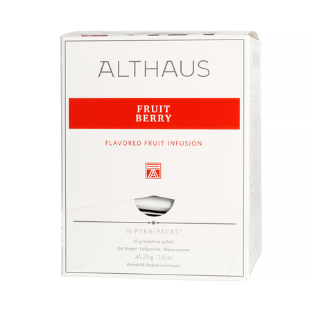 Althaus - Fruit Berry Pyra Pack - Herbata 15 piramidek