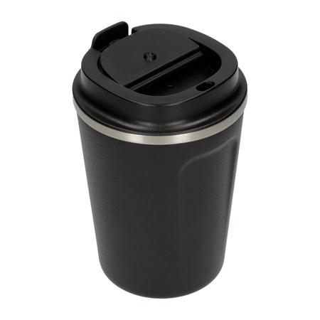 Asobu - Cafe Compact Czarny - Kubek termiczny 380 ml