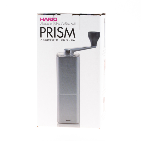 Hario - PRISM Aluminum Alloy Coffee Mill Czarny