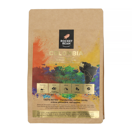 Rocket Bean - Colombia Cauca El Mandarino Filter 200g