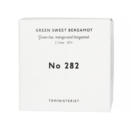 Teministeriet - 282 Green Sweet Bergamot - Herbata Sypana 100g - Opakowanie Uzupełniające
