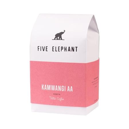 Five Elephant - Kenya  Kamwangi AA Filter