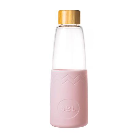 Sol - Różowa butelka + Wycior + Etui