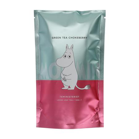 Teministeriet - Moomin Green Tea Chokeberry - Herbata sypana 100g - Opakowanie uzupełniające
