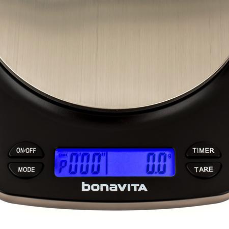 Waga Bonavita Rechargeable Auto Tare Gram Scale