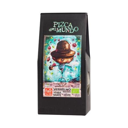 Pizca del Mundo - yerba mate Vermelho Berries 100g