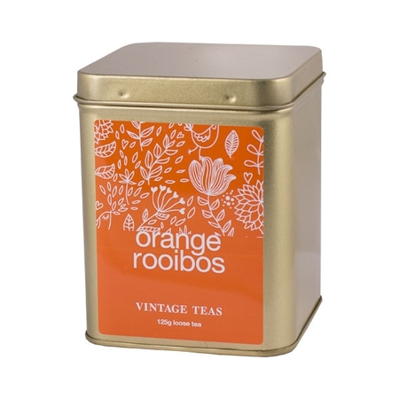 Vintage Teas Orange Rooibos - puszka 125g