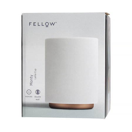 Fellow Monty Latte Cup - Kubek biały 325 ml
