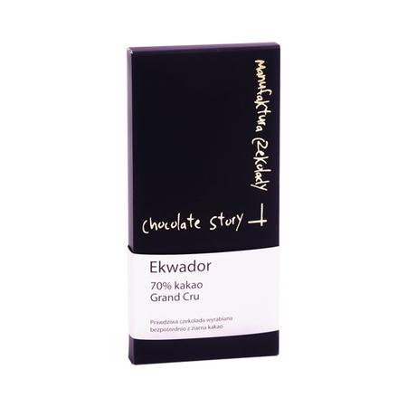 Manufaktura Czekolady Grand Cru 70% czekolada kakao z Ekwadoru (outlet)