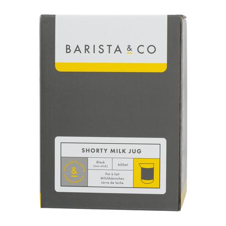 Barista & Co - Shorty Milk Jug Black - Dzbanek do mleka 600 ml