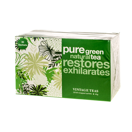 Vintage Teas Pure Green Tea - 30 torebek