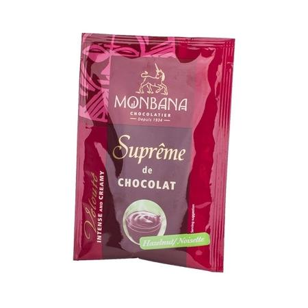 Monbana Supreme Chocolate o orzechowym smaku  – saszetka 25g