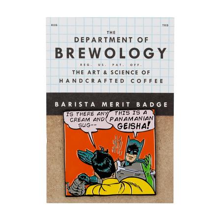 Department of Brewology - Przypinka Batman Geisha Slap