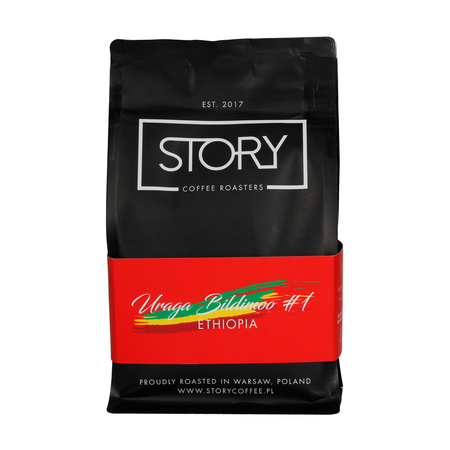Story Coffee Roasters Ethiopia Uraga Bildimoo #1 Washed FIL 250g, kawa ziarnista (outlet)