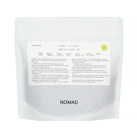 Royal Beans: Nomad - Colombia Villa Rosita Lime 200g
