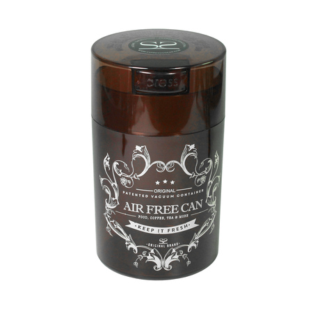 Espresso Gear - Vacuum Can Amber - Pojemnik próżniowy - Brązowy 250g / 0,57L