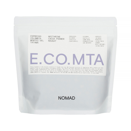 Nomad Colombia Montes Del Tatama Espresso (outlet)