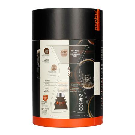 Asobu - Pourover Insulated Coffee Maker - Miedziany / Czarny