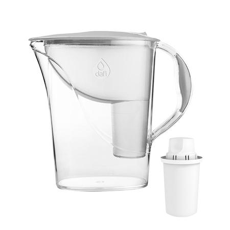 Dafi - Dzbanek filtrujący Atria 2,4l + 1 filtr Classic - Biały