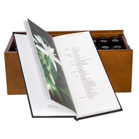 Książka + Zestaw 36 aromatów Jean Lenoir - Le Nez Du Cafe Revelation