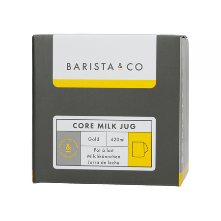 Barista & Co - Core Milk Jug Gold - Dzbanek do mleka 420 ml