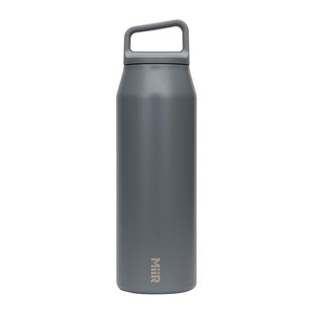 MiiR - Wide Mouth Bottle Grafitowa - Butelka termiczna 590 ml