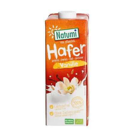 Natumi - Napój owsiano-waniliowy bez dodatku cukru 1L