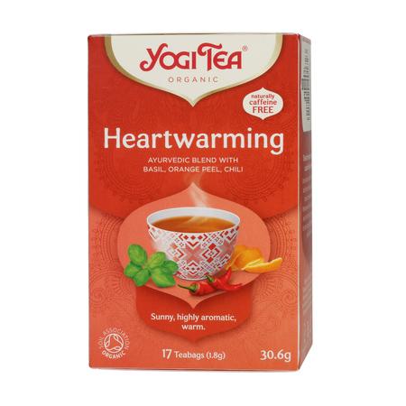 Yogi Tea - Heartwarming - Herbata 17 Torebek