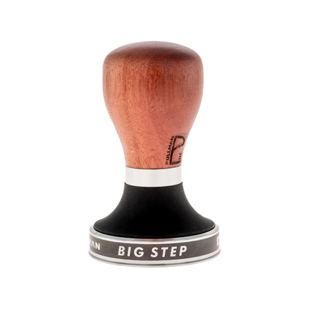 Tamper Pullman - Big Step Base 58,55 mm - Timber Jarrah Handle
