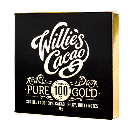 Willie's Cacao - Czekolada 100% - Pure Gold Wenezuela 65g