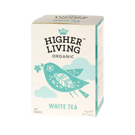 Higher Living White Tea - herbata - 20 saszetek