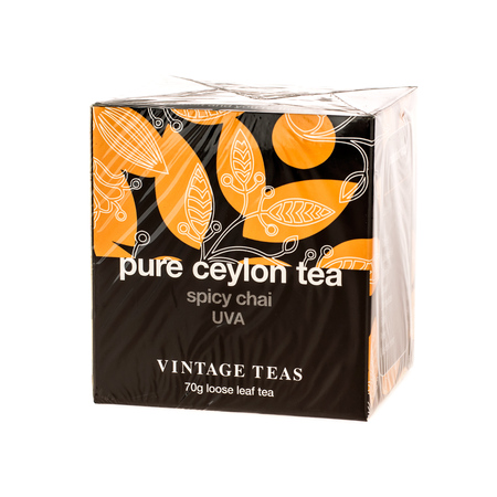 Vintage Teas Pure Ceylon Tea - Spicy Chai UVA 70g (outlet)