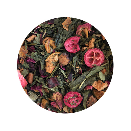 Solberg & Hansen - Herbata sypana - Cranberry and Pomegranate Green Tea