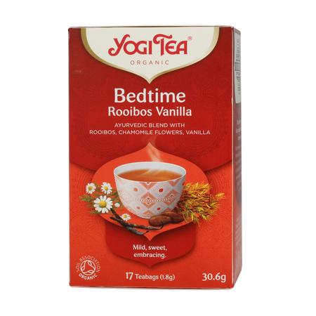 Yogi Tea - Bedtime Rooibos Vanilla - Herbata 17 Torebek