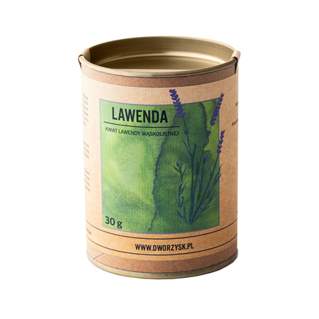 Dworzysk - Lawenda - Herbata sypana 30g