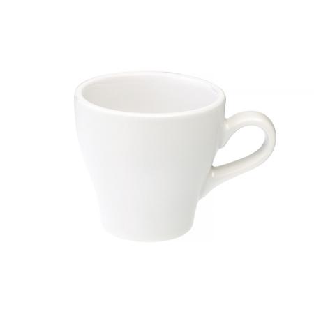 Loveramics Tulip - Filiżanka i spodek Cappuccino 180 ml - White