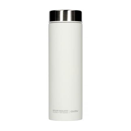 Asobu - Le Baton Biały / Srebrny - Butelka termiczna 500ml