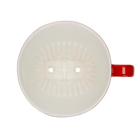 Melitta porcelanowy dripper do kawy 102 czerwony (outlet)