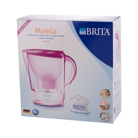 Brita Marella - dzbanek tulipan - różowy 2,4l