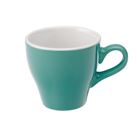Loveramics Tulip - Filiżanka i spodek Cafe Latte 280 ml - Teal