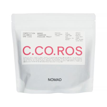 Nomad Coffee - Colombia San Luis Pink Bourbon Omar Arango Filter