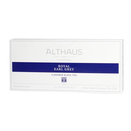 Althaus - Royal Earl Grey Grand Pack - Herbata 20 dużych saszetek