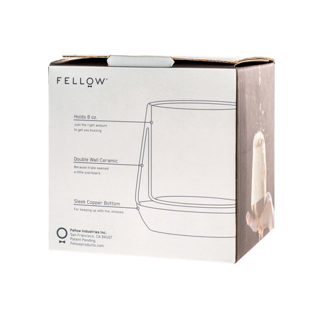 Fellow Joey Mug - Biały - 240ml