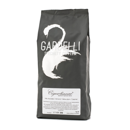 Gardelli Specialty Coffees - Cignobianco Espresso Blend 1kg (outlet)