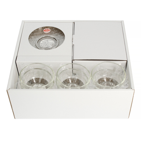 Hario zestaw Dzbanek do herbaty Cha-Cha 700 ml +  6 szklanek Yunomi