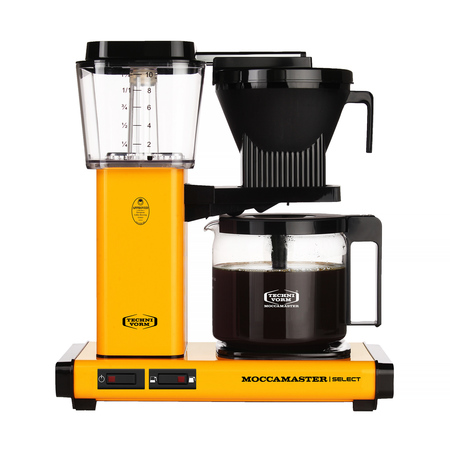 Moccamaster KBG Select yellow pepper ekspres przelewowy (outlet)