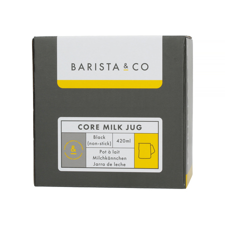 Barista & Co - Core Milk Jug Black - Dzbanek do mleka 420 ml