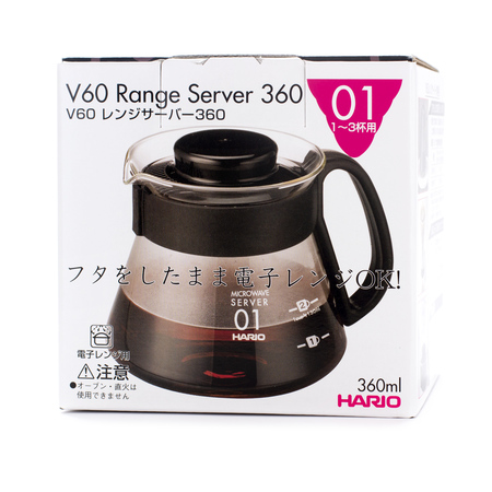 Hario Range Server V60-01 Microwave -  360ml