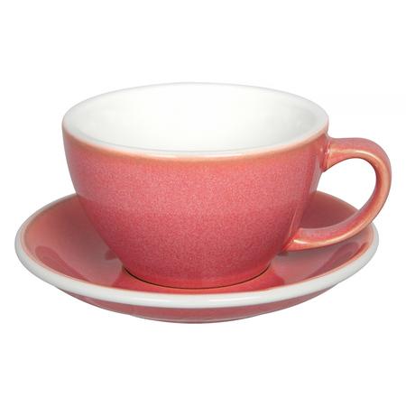 Loveramics Egg - Filiżanka i spodek Cafe Latte 300 ml - Berry