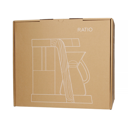 Ratio Eight - Srebrny / Orzech Włoski - Ekspres przelewowy